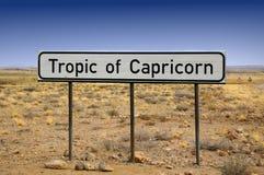 Trópico de Capricorn Imagens de Stock Royalty Free