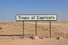 Trópico del Capricornio imagenes de archivo