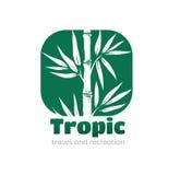 Trópico del logotipo Fotografía de archivo libre de regalías