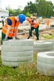 Trött arbetare som har avbrottet Royaltyfri Fotografi