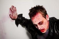 trött zombie Royaltyfri Fotografi