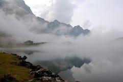 Trübsee Switzerland 1. Trübsee - Titlis mountain lake in Switzerland, August 2008 Royalty Free Stock Photography