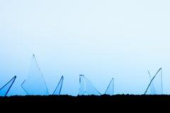 Trümmer-Glas-Spitze Stockbild
