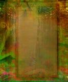 träabstrakt ram Royaltyfri Fotografi