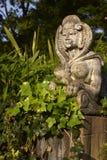 trädgårds- staty Arkivbild