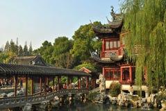 trädgårds- yuyuan Royaltyfri Bild