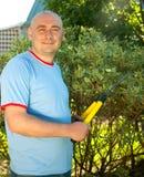 trädgårdsmästare Arkivfoto
