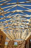 trä för struktur två Arkivfoton