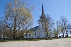 Trømborg church Stock Photo