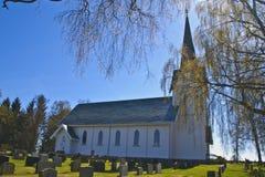 Trømborg church (north) Stock Images