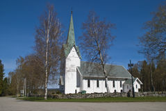 Trømborg church (south, southwest) Royalty Free Stock Photos
