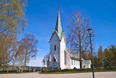 Trømborg church (south-west) Stock Photography