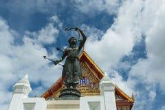Trône de Hall Phuttaisawan, Musée National Bangkok Images stock