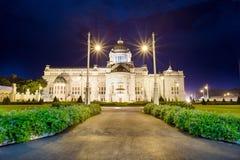 Trône Hall d'Ananta Samakhom Image stock