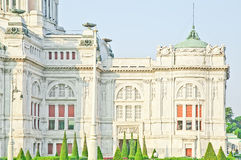 Trône Hall In Dusit Palace d'Ananta Samakhom Image libre de droits