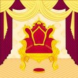Trône royal Images libres de droits