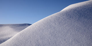 Tração da neve imagens de stock royalty free