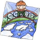 Tração do gelo ilustração royalty free