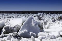 Tração do gelo Imagem de Stock Royalty Free