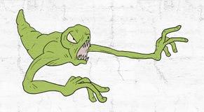 Tração do monstro ilustração stock