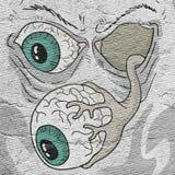Tração do monstro do medo ilustração do vetor