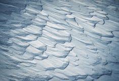 Trações abstratas da neve imagem de stock