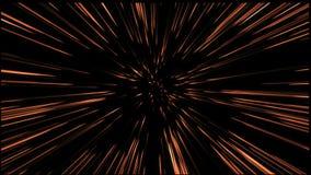 Traço avançado do movimento do voo da velocidade de fundos de um espaço ilustração do vetor