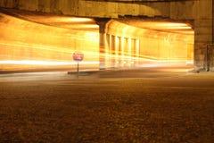 Traço da luz do carro Foto de Stock Royalty Free