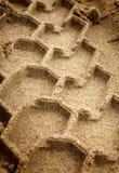 Traço de pneumático Imagens de Stock