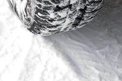 Traço do pneu Imagens de Stock Royalty Free