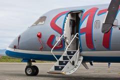 Traço dos aviões Imagens de Stock
