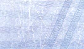 Traços de pneus de carro no gelo Textura da superfície do gelo Trilha com textura separada do grunge, marcas do pneu, passo do pn ilustração do vetor