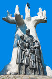 Traços de Varsóvia - Janusz Korczak Monument judaicos Imagens de Stock