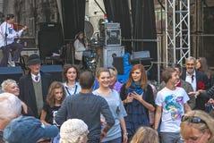 Traços de Varsóvia judaica - cultive o festival 2010 Imagens de Stock