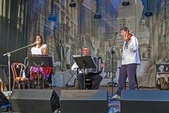 Traços de Varsóvia judaica - cultive o festival 2010 Fotos de Stock Royalty Free