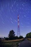 Traînée d'étoile de pylône Image stock