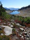 Traînée d'Ann de lac avec vue sur le lac Ann Photos libres de droits