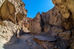 Traînée d'or de canyon Photographie stock