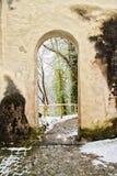 Traînée dans Fussen Allemagne Photographie stock libre de droits