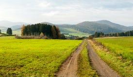 Traînée dans la vallée de Gelängebach Image stock