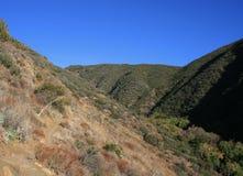 Traînée de canyon de klaxon Photo libre de droits