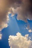 Traînée de ciel Image stock
