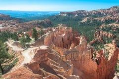 Traînée de jardin de la Reine en Bryce Canyon, Utah Images libres de droits