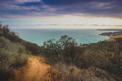 Traînée de Malibu de canyon de corral photographie stock libre de droits