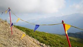 Traînée de montagne Caucase banque de vidéos