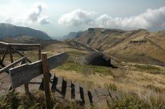 Traînée de montagne en la Madère Photographie stock libre de droits