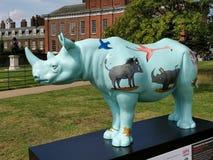 Traînée 2018 de rhinocéros de défense - Axel Scheffler Photo libre de droits