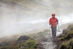 Traînée de rivière de source thermale de Hveragerdi Images stock