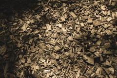 traînée de touristes couverte du bois sec ébréché - rétro regard de cru images libres de droits