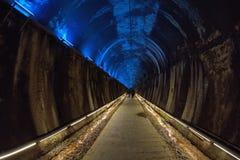 Traînée de tunnel Images libres de droits